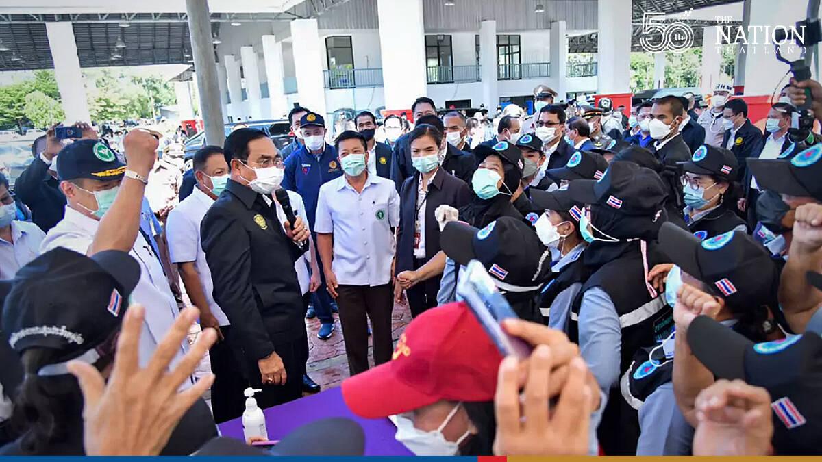 Prayut lands in Phuket to welcome first sandbox arrivals