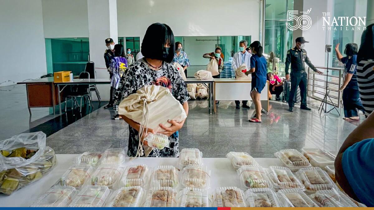 Samut Prakan fire evacuees finally head home