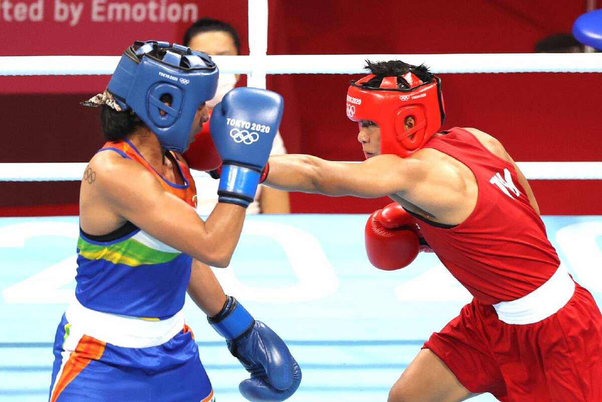 Sudaporn crushes Indian for shot at Thailands first womens boxing medal.