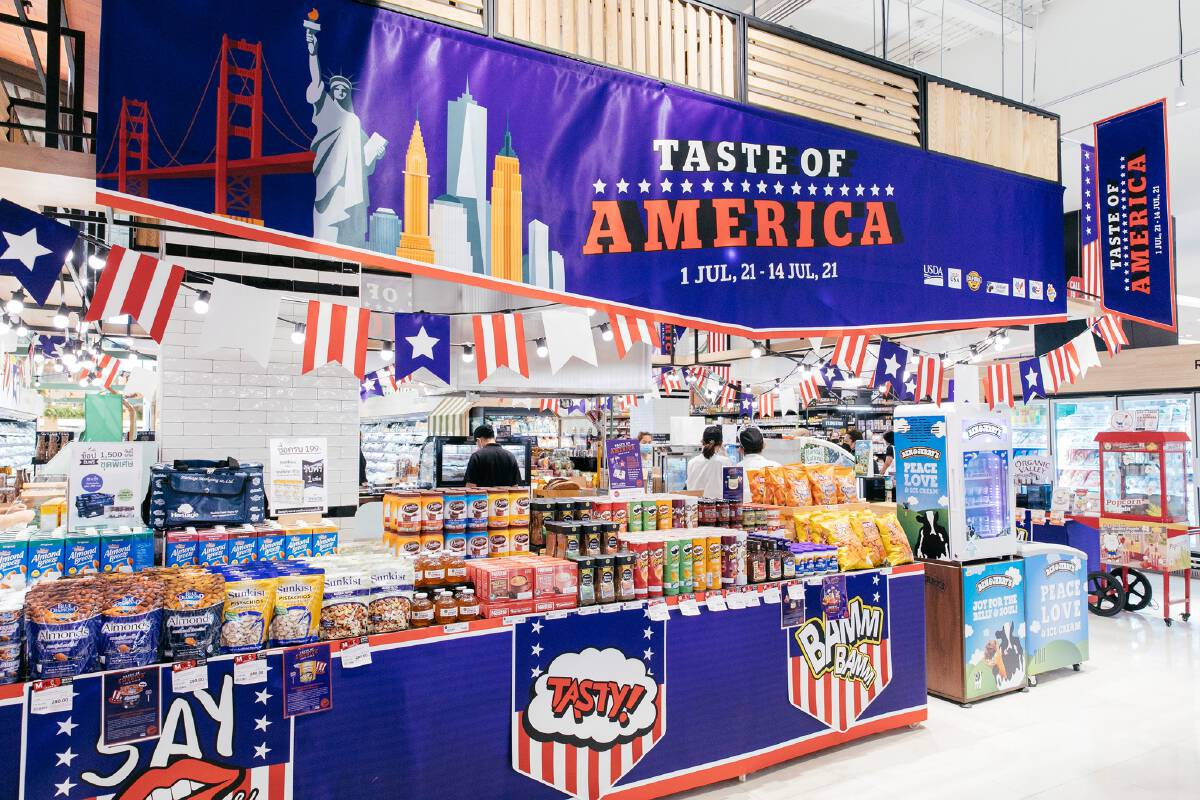 """Gourmet Market Presents """"Taste of America"""" with Delicious American Food Imports"""