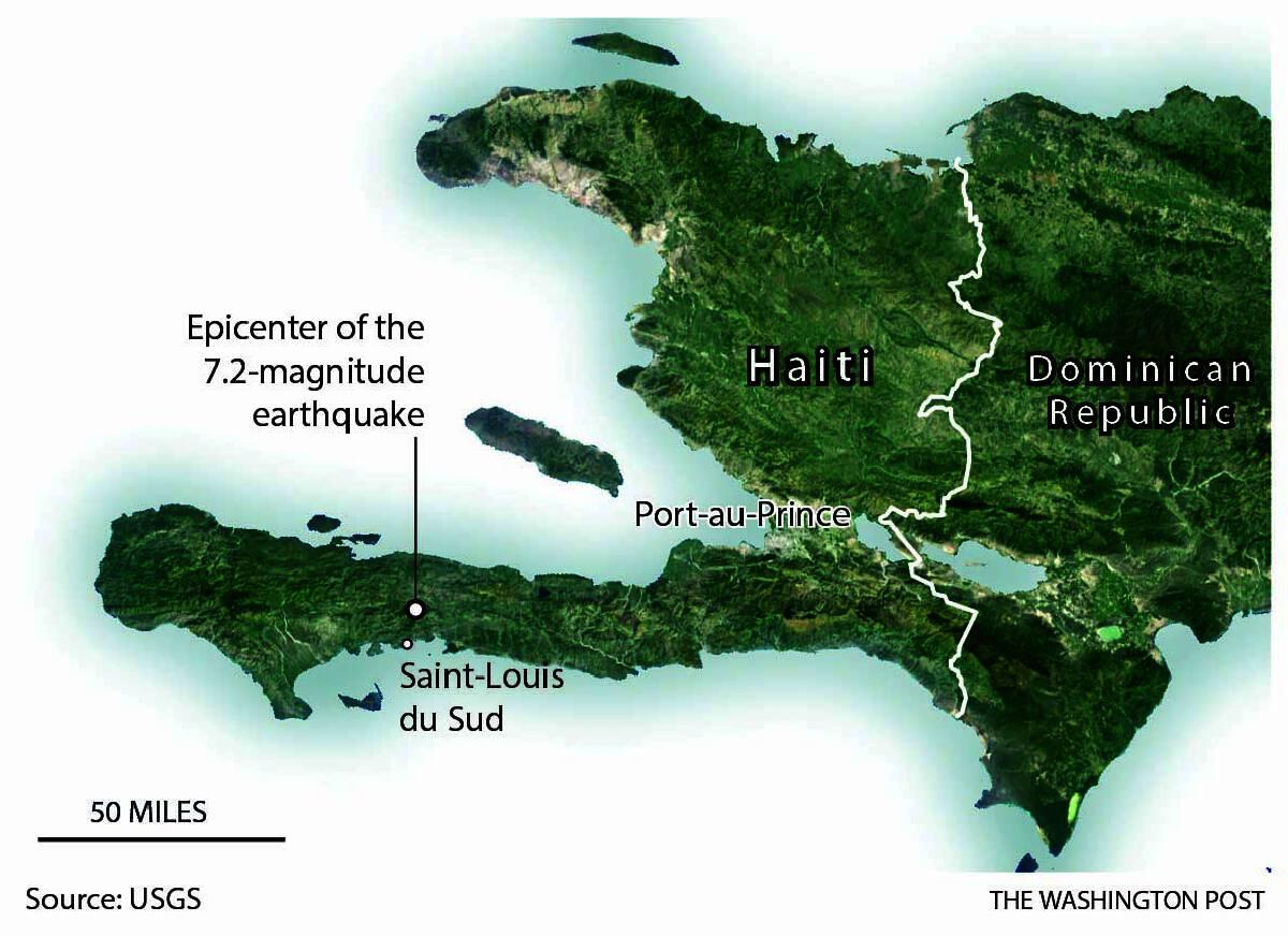 At least 304 dead in Haiti in wake of 7.2-magnitude earthquake