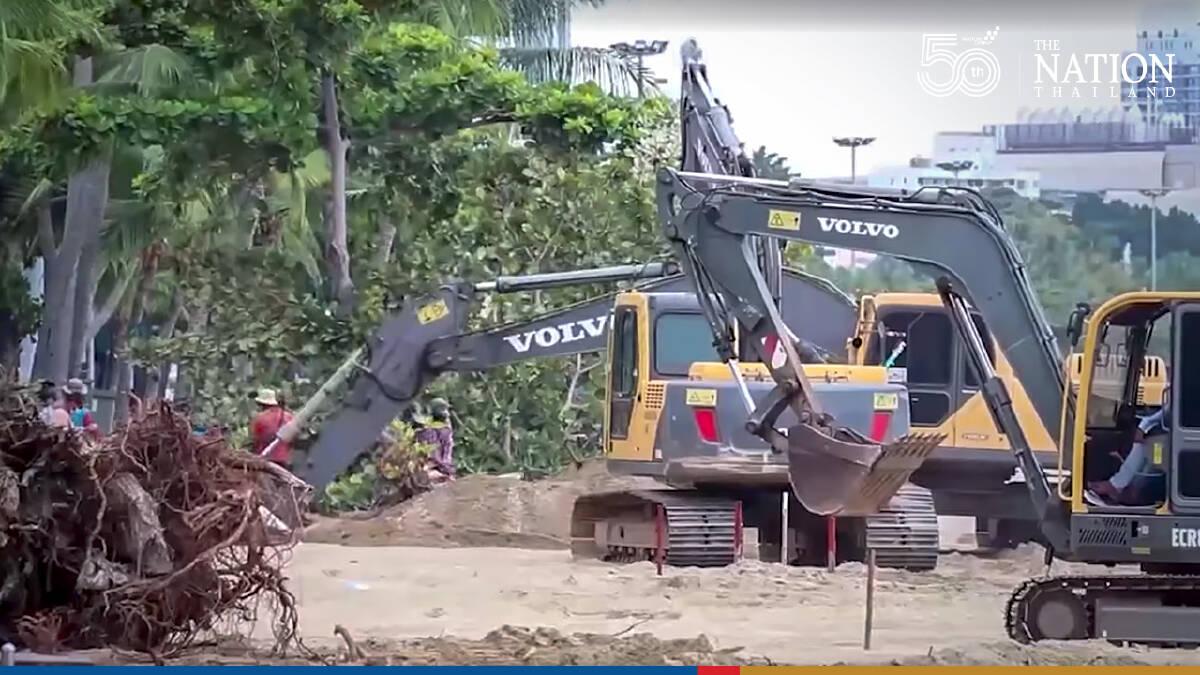Experts decry govt plan to turn Pattaya beach into Miami lookalike