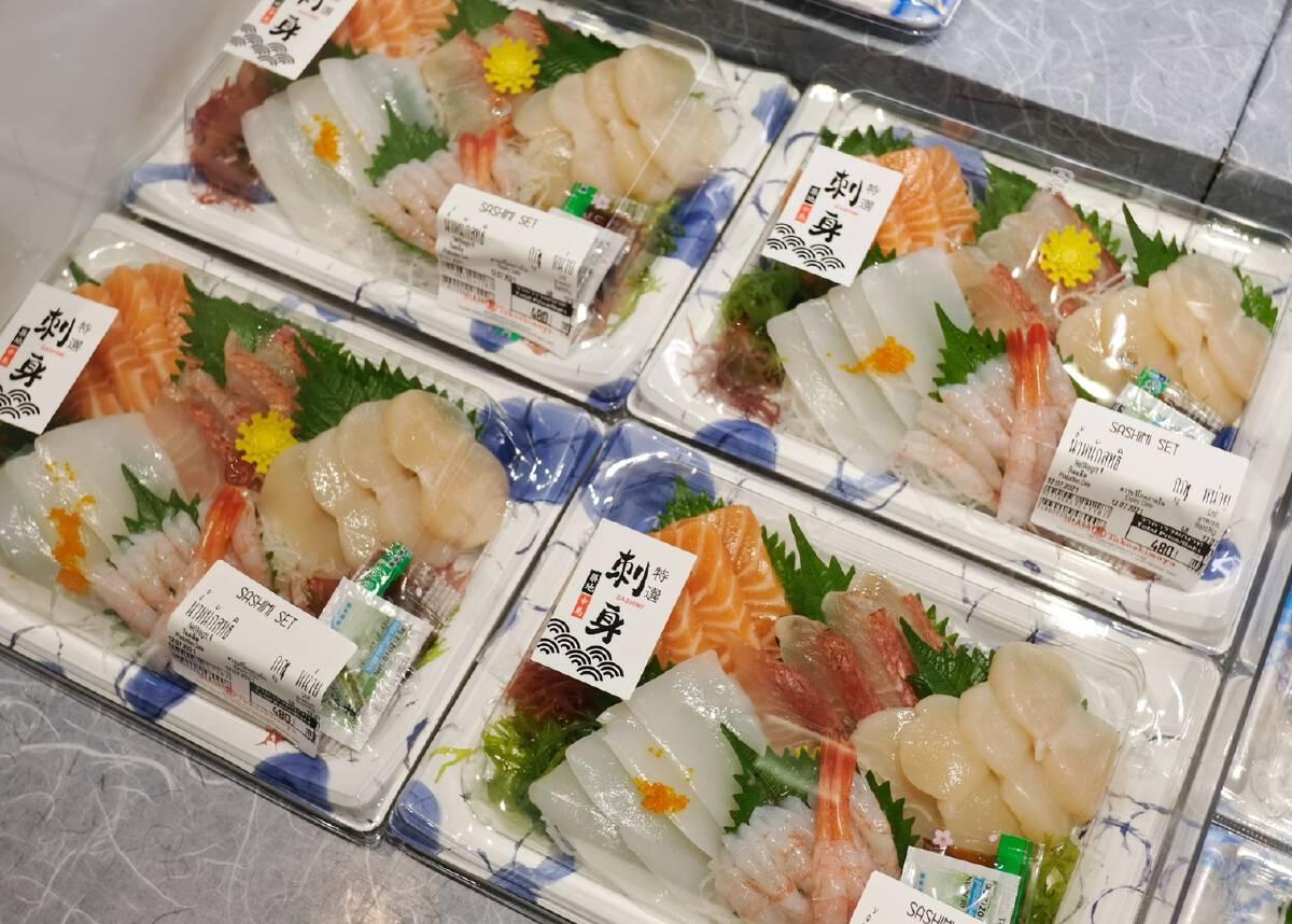 SIAM Takashimaya at ICONSIAM Bring along freshness from ready-to-serve Japanese Fish Market