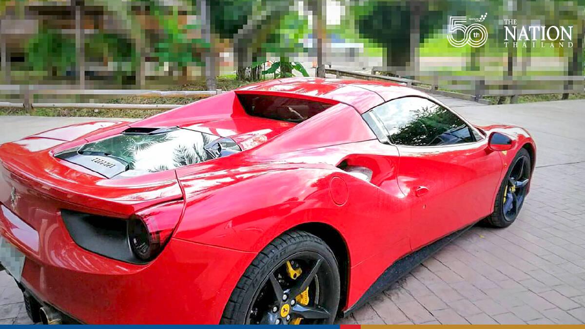 Lamborghini, Porsche, Bentley all part of wanted Nakhon Sawan cop's fleet of cars