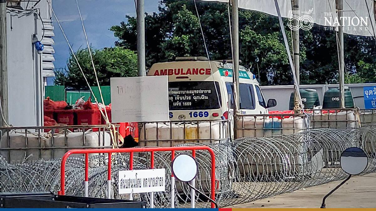 Police raid Samut Prakan field hospital after reports of group sex