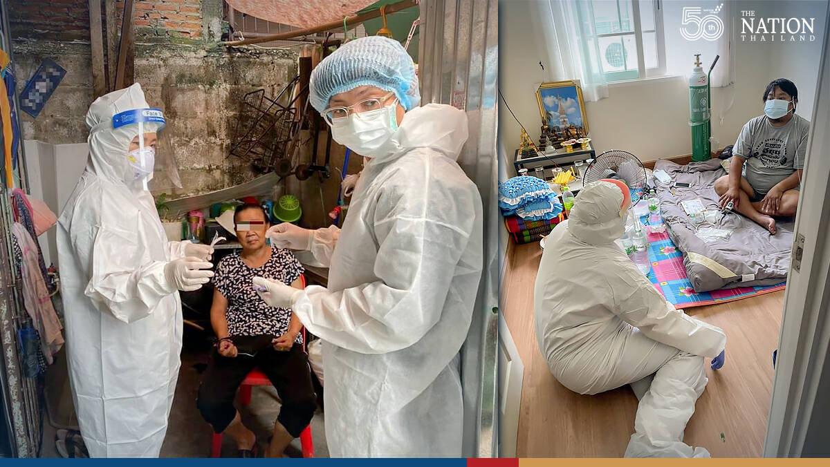 Mobile jab unit vaccinating over 4,000 vulnerable Bangkokians per day