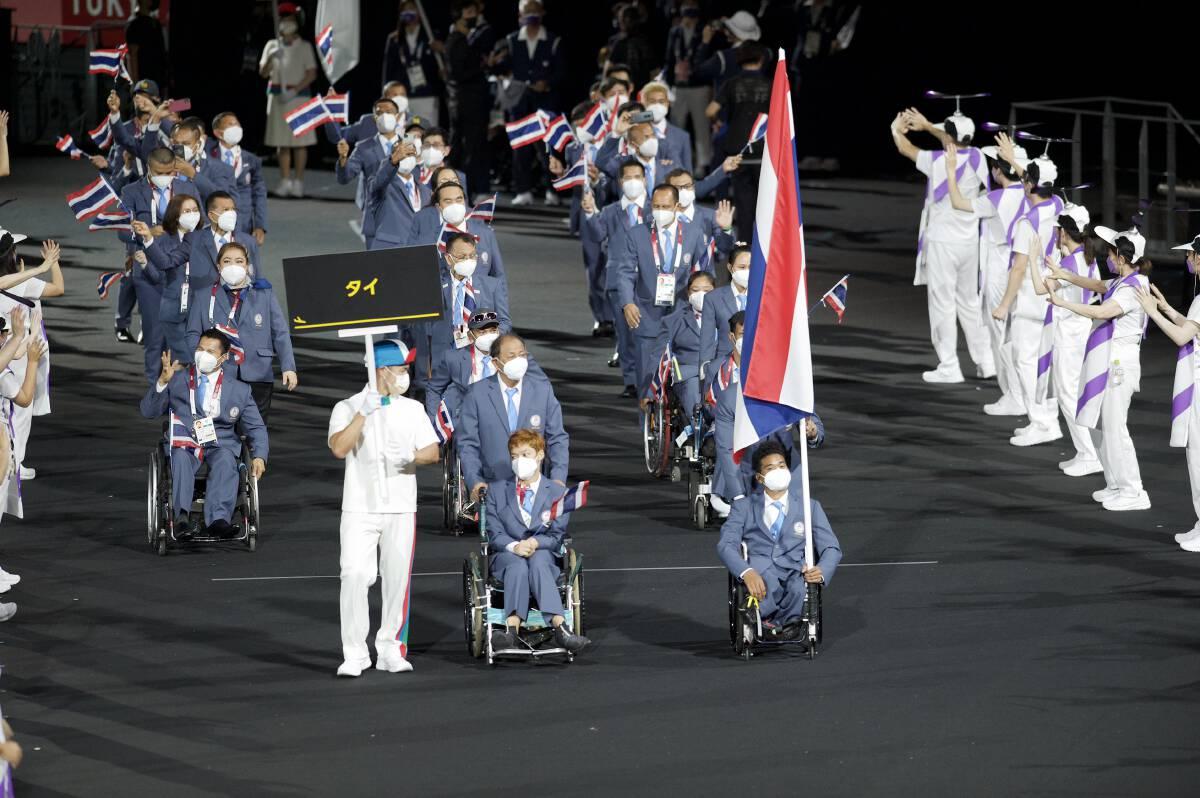 Thailand Paralympic team