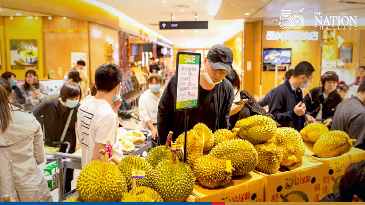 Thai fruit exports soar in first half of 2021