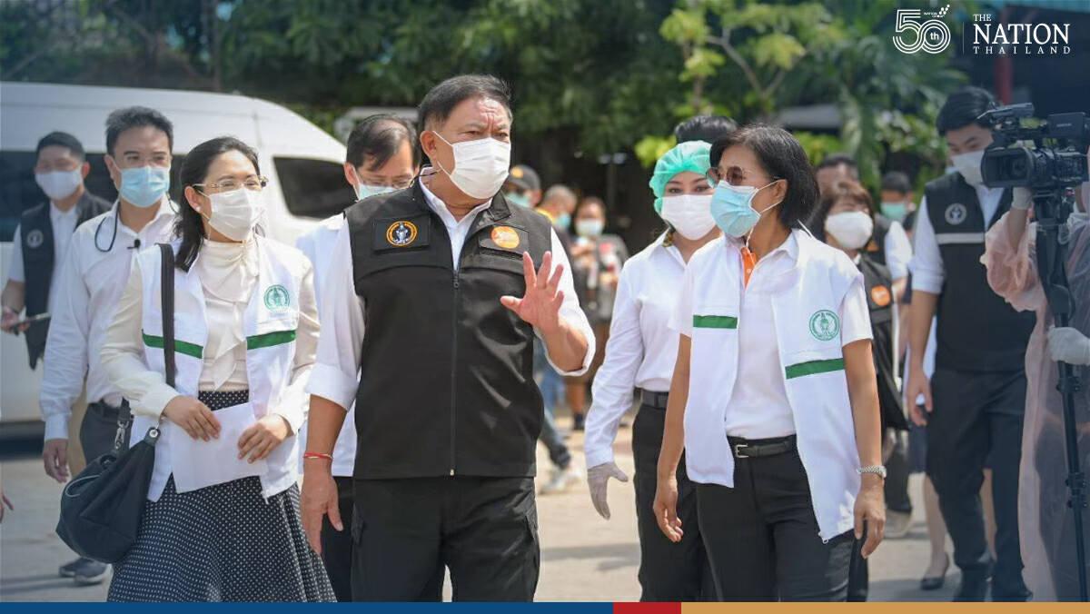 Bangkok opens 6 new testing units as infections surge
