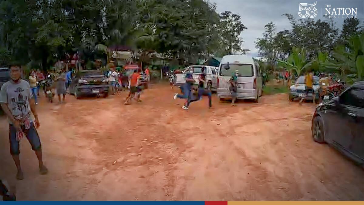 10 gamblers arrested in raid on Phatthalung cockfighting stadium