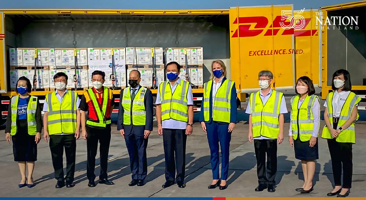 2 million Pfizer doses land in Thailand