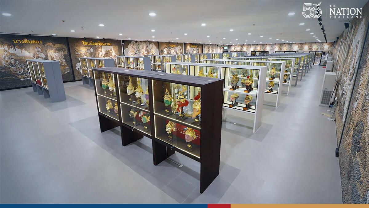 The Khon Mask Museum in Pattaya's Nong Nooch