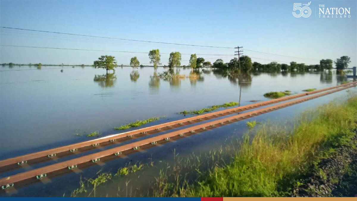 Eight Northeast train services suspended due to flooding