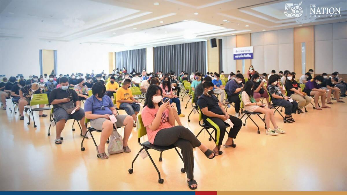 Almost half of registered vulnerable students jabbed in Bangkok