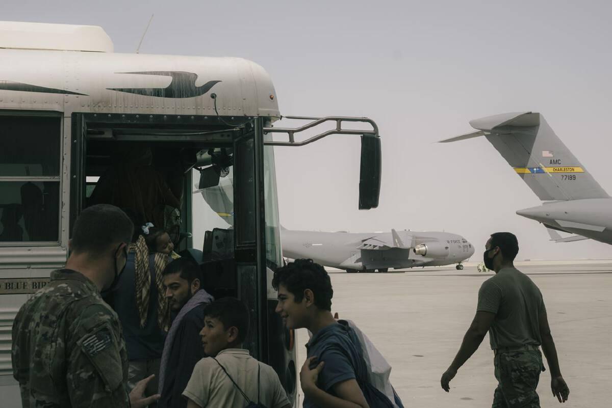 Afghan evacuees to U.S. face tenuous path ahead
