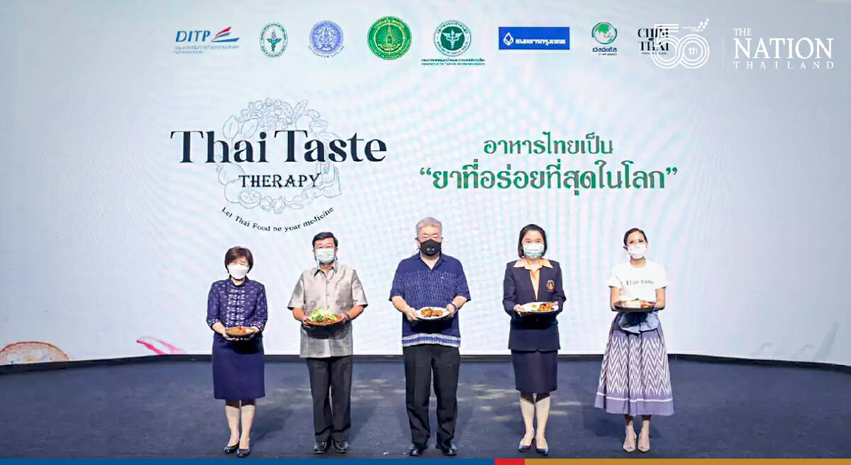 Department launches scrumptious international project promoting health benefits of Thai food