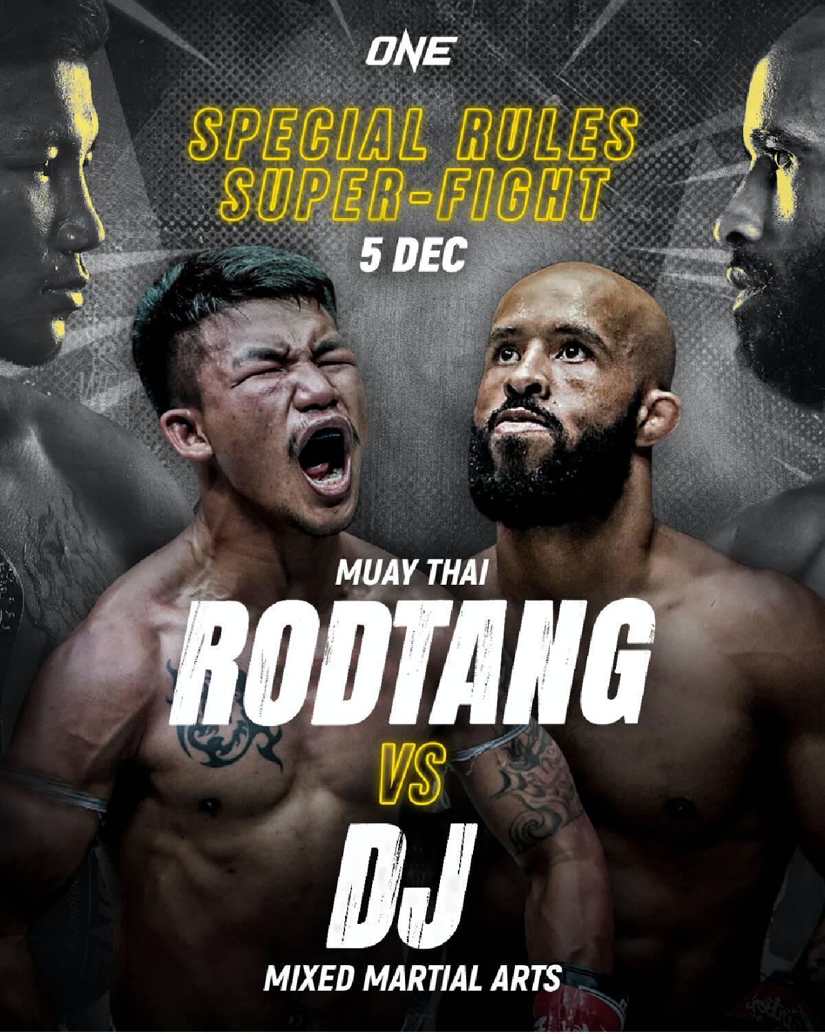 Rodtang vs DJ