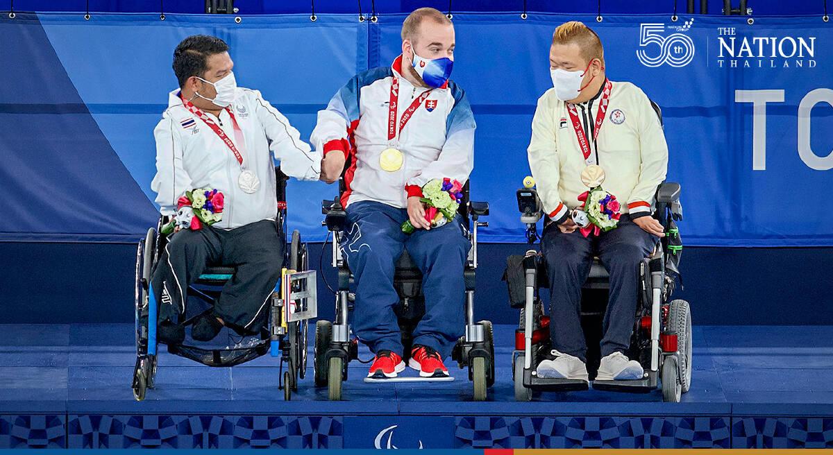 Pornchok wins silver in Tokyo as Thailand display boccia strength