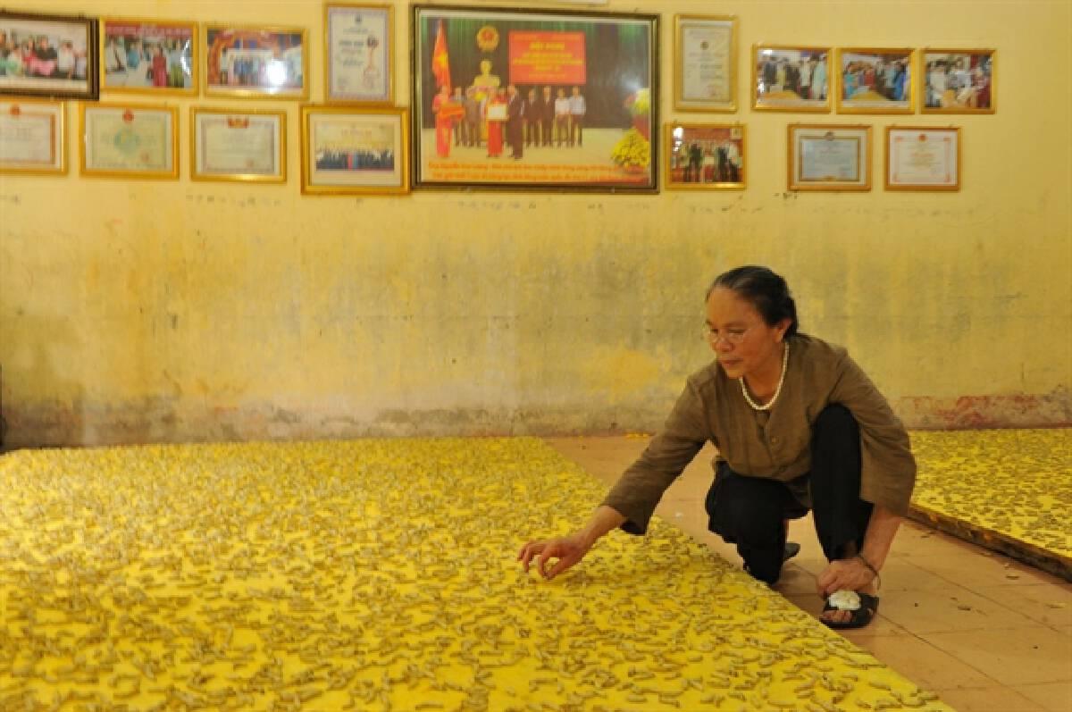 Silk artisan keeps production going despite pandemic