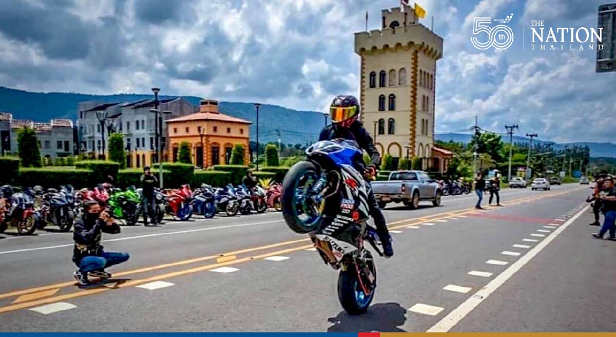 Boasting big biker lands himself in big trouble