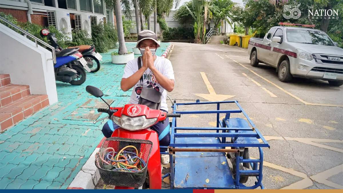 Bangkok construction worker hit with huge fines over 'wheelie'