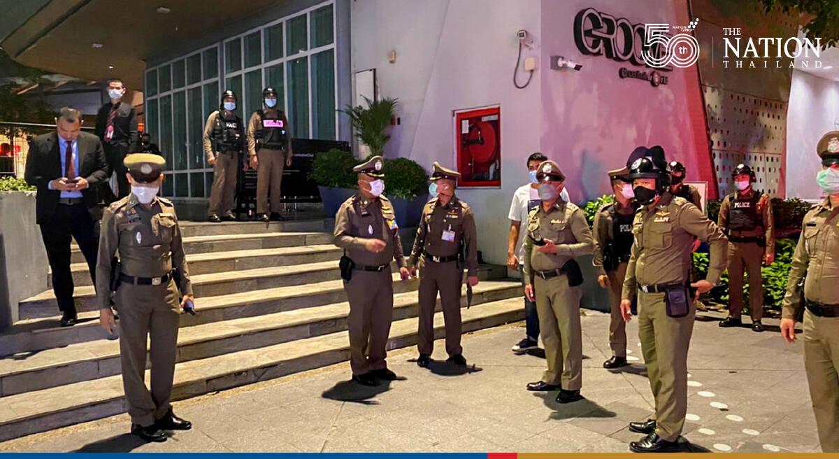 93 guests arrested as police raid music bar in Bangkok