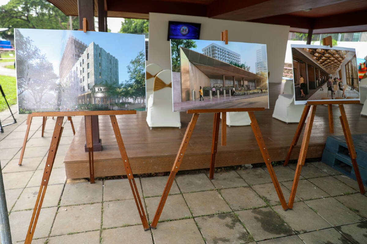 U.S. Embassy and Distinguished Guests Celebrate Start of Construction of New Building