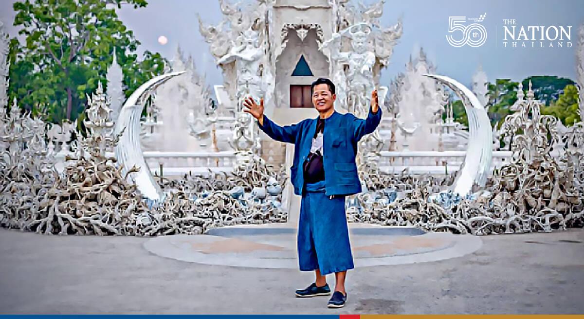 Thailand's National Artist Chalermchai reveals retirement plans