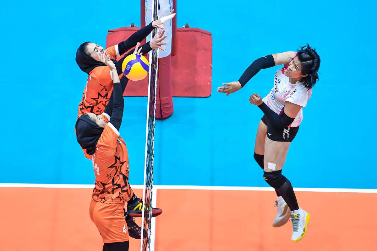 Supreme Chonburi grabbed bronze medal after overpowering Saipa