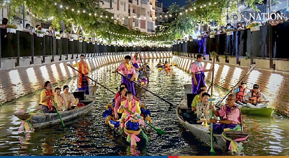 Bangkok's Khlong Ong Ang walking street open every weekend from Oct 15