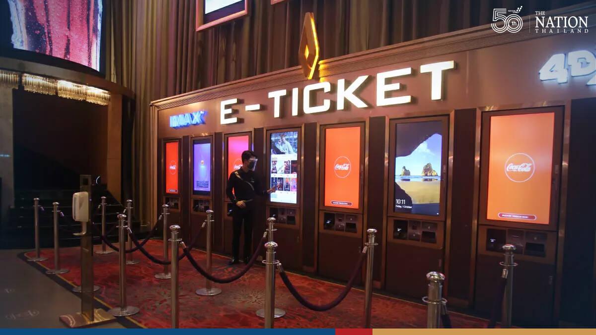 Bangkokians go to the cinema as normality returns slowly