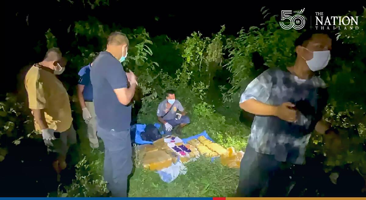 Police make THB14m drug haul, hunt wily traffickers