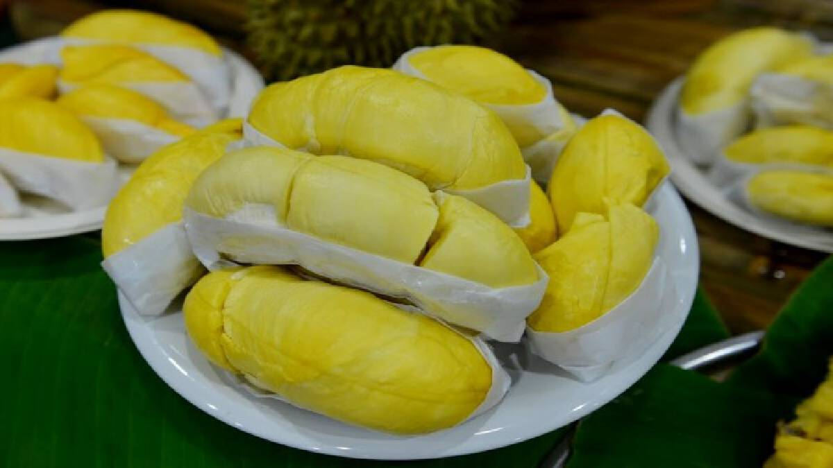 Chinese buyers snap up 20-tonne shipment of durian