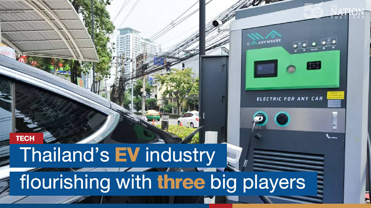 Thailand's EV industry flourishing with three big players