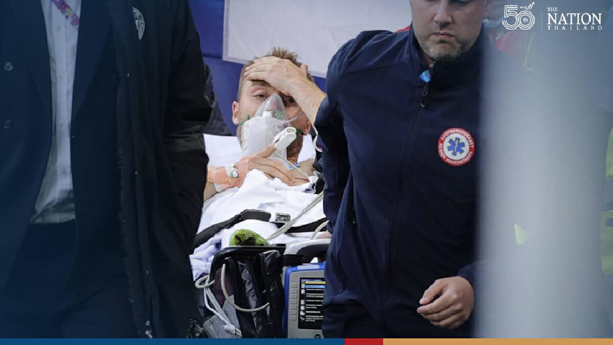 Danish star Christian Eriksen collapses on field; Denmark-Finland match suspended at Euro 2020