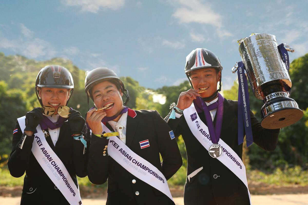 Thai equestrians make history, qualify for Tokyo Olympics