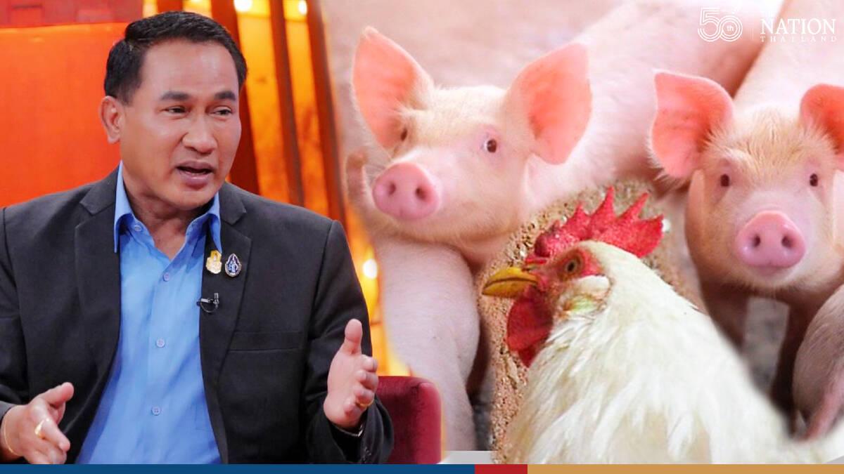 Livestock department warns of criminal action over fake news on pork, chicken consumption