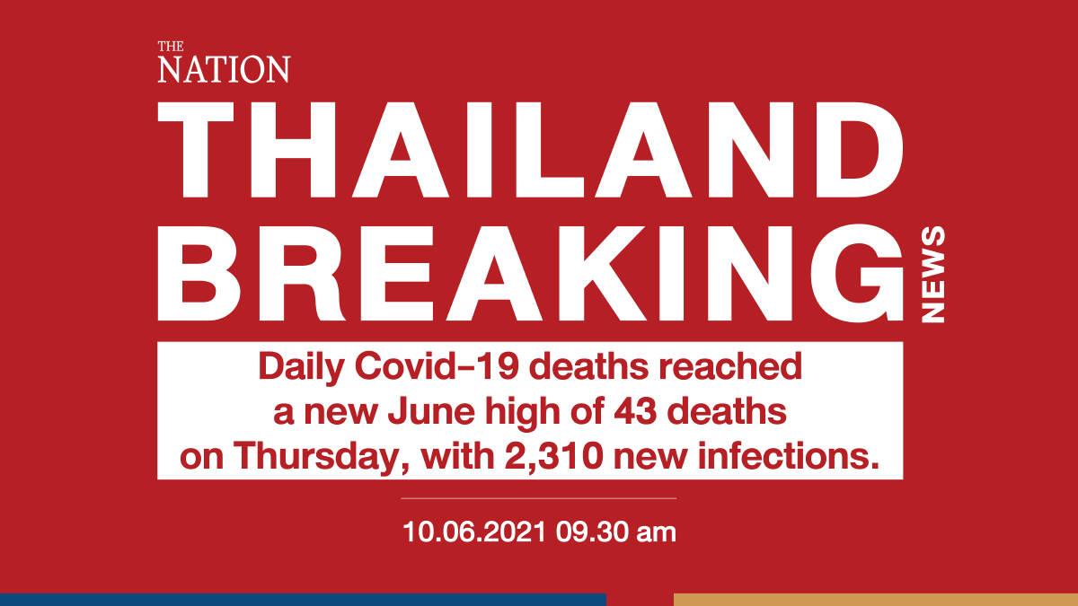 Daily virus deaths hit new June high