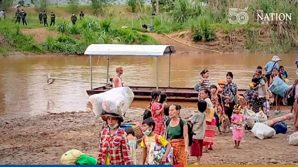 380 refugees sent back amid Karen, Myanmar ceasefire