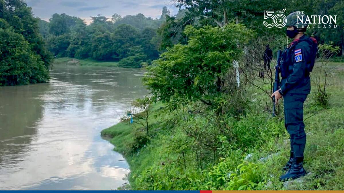 Border patrols at Golok River beefed up after Malaysia lockdown
