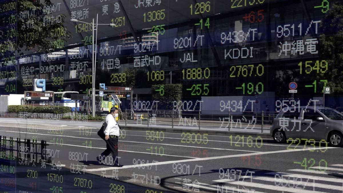 Stocks grasp for record, bonds rally ahead of CPI