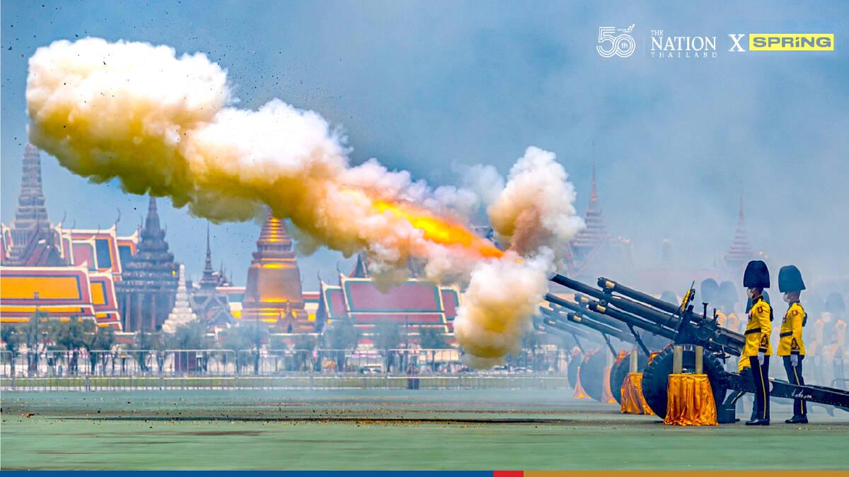 HM Queen's birthday marked by 21-gun salute