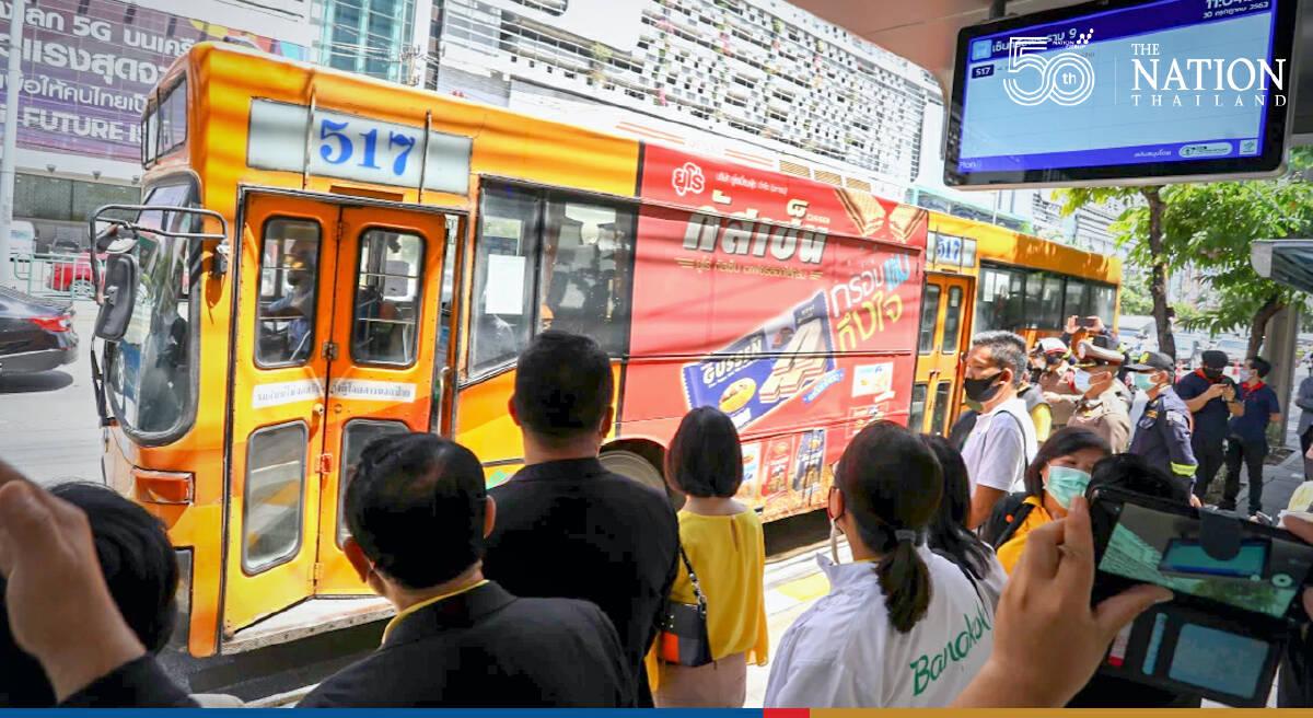 2 Bangkok bus drivers, 2 conductors test positive