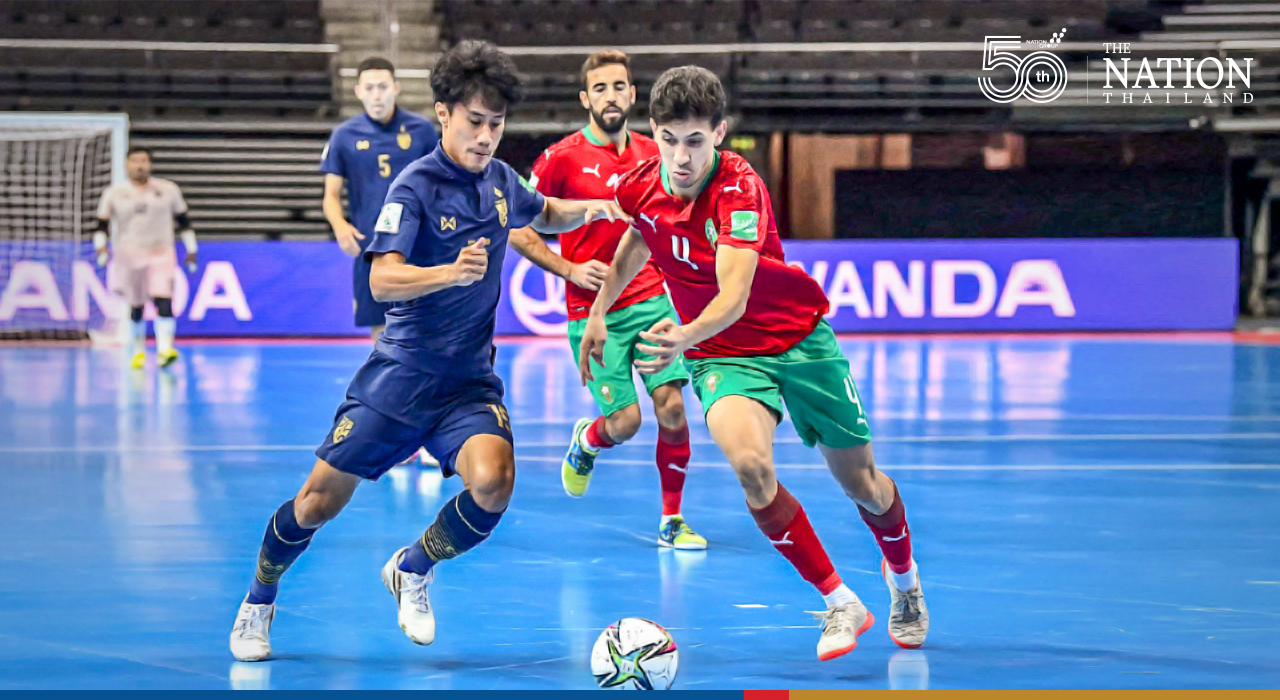 Jirawat timely strike helps Thailand force a draw in futsal World Cup