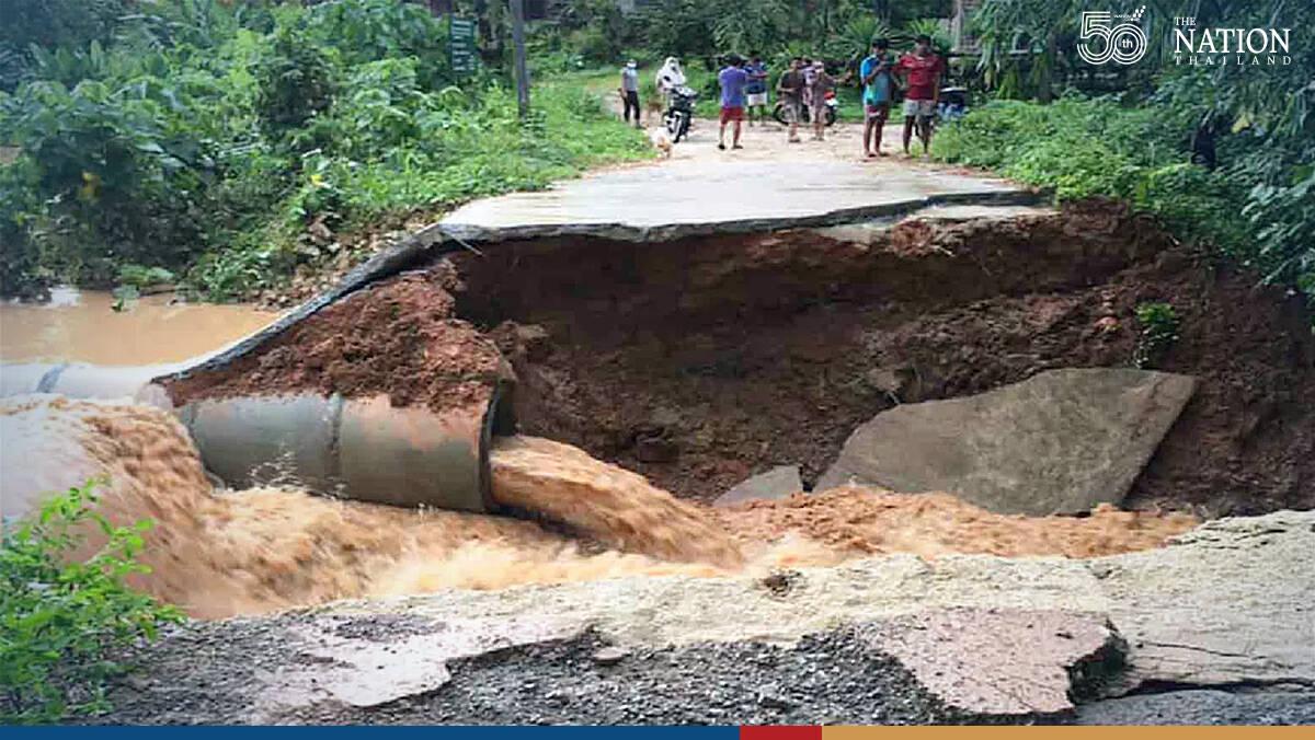 Monsoon mayhem leaves homes in 16 provinces underwater