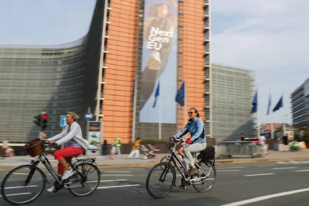 Car Free Sunday in Belgian capital