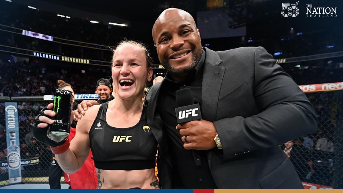 UFC champion Shevchenko hails Thailand after retaining title